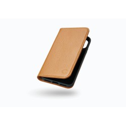 CYGNETT iPhone X Leather Wallet Case in Tan