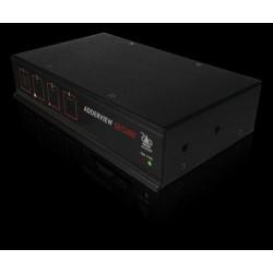 AdderView Secure AVSD 4 Port KVM Switch