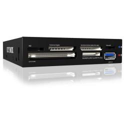 "RAIDSONIC ICY BOX IB-865-B čtečka karet+ USB 3.0 port do 3.5""  šachty (podporuje 60 typů karet, 1x USB 3.0), černá"