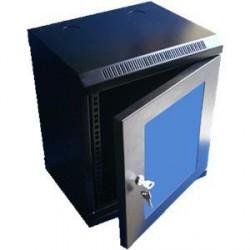 """10"""" rack jednodílný 12U/280 DATACOM černý Skl.dv."""