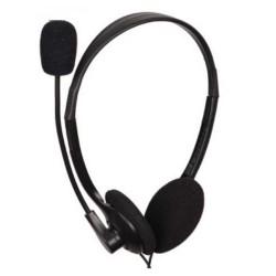 GEMBIRD sluchátka s mikrofonem MHS-123 black