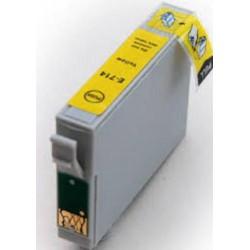 EPSON T0714 kompatibilní náplň žlutá inkoustová (yellow), pro Stylus D78, DX4000, DX5000, DX5050, DX6000, 7000F atd