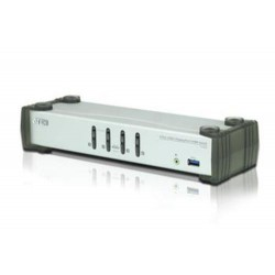 ATEN CS-1914 4-port DisplayPort KVMP USB3.0, audio