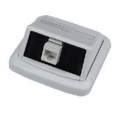 Jednozásuvka ABB TANGO 1xRJ45 cat6 UTP bílá