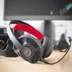 KOSS herní sluchátka HEADSET GMR-545-AIR, + mikrofon, černé