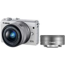 Canon EOS M100 White M15-45 S+M22