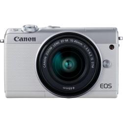 Canon EOS M100 White M15-45 + IRISTA EU18