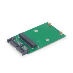 "GEMBIRD redukce Mini SATA 3.0 to Micro SATA 1.8""  SSD adapter card"