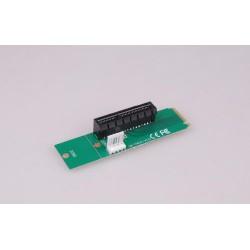 ANPIX redukce z NGFF M2 (key M) na PCI-E 4x (adaptér pro zapojení VGA přes M.2 konektor na MB) (pro těžbu kryptoměny, mining)