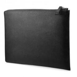 HP 12.5 Leather Black Sleeve