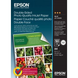 Double-Sided Photo Quality Inkjet Paper,A4,50 sheets
