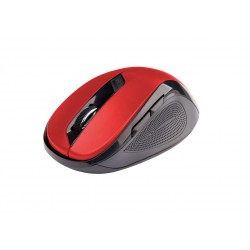 C-TECH Myš WLM-02 bezdrátová, 6tlač. černo-červená