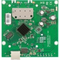 MIKROTIK RouterBOARD RB911-5HnD, 64MB RAM, 802.11a/n, 2x2 two chain, 5GHz, ROS L3, 1xLAN, 2x MMCX