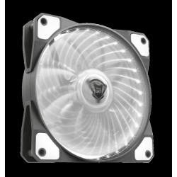 TRUST GXT 762B PC tichý LED ventilátor-black/white