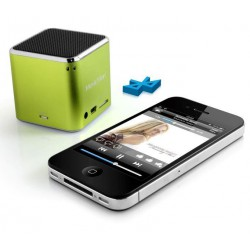 Technaxx Mini MusicMan, bluetooth, 600 mAh, zelený