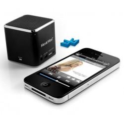 Technaxx Mini MusicMan, bluetooth, 600 mAh, černý