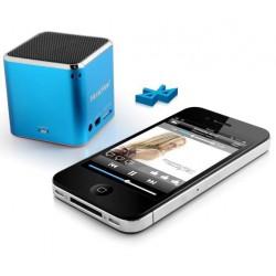 Technaxx Mini MusicMan, bluetooth, 600 mAh, modrý