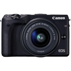 Canon EOS M3 + adaptér EF-EOS M