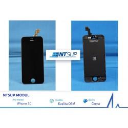 NTSUP LCD modul iPhone 5C černý kvalita B