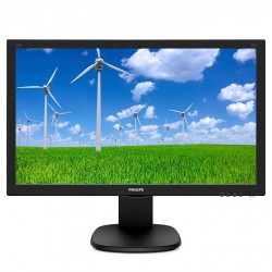 "24"" LED Philips 243S5LJMB - FHD,DVI,HDMI,DP,piv"