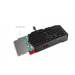 AKCE ASUS Hard bundle CERBERUS COMBO keyboard CZ layout + Cerberus headset V2 RED