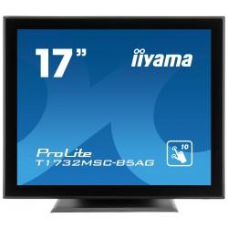 """17"""" iiyama T1732MSC-B5AG - TN,SXGA,5ms,250cd/m2, 1000:1,5:4,VGA,HDMI,DP,USB,repro."""