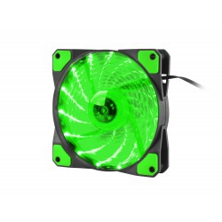 Ventilátor Genesis Hydrion 120, zelené LED, 120mm