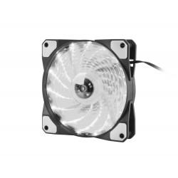 Ventilátor Genesis Hydrion 120, bíle LED, 120mm