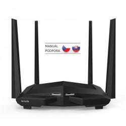 Tenda AC10 WiFi AC Router 1200Mb/s, 1x GWAN, 3x GLAN, VPN server/klient, WISP, Universal Repeater