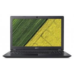 """Acer Aspire 3 - 15,6""""/i3-7020U/4G+2G/256SSD/W10 černý"""