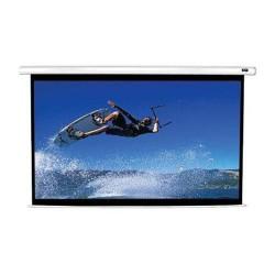 ES ELITE SCREENS VMAX2 VMAX120XWH2 elektrické roletové plátno závěsné, 299x168cm, úhlopříčka 120 palců, 16:9, bílé pouzdro a čer