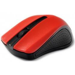 GEMBIRD optická bezdrátová myš, USB, červená