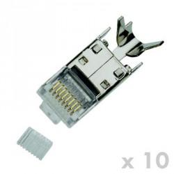 DATACOM konektor RJ45 STP CAT7(6A) 8p8c drát(10ks)