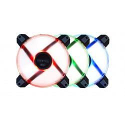 přídavný ventilátor Polaris RGB LED 12cm 2 ks