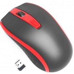 Gembird bezdrátová optická myš MUSW-107, černá/červená
