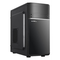 1stCOOL MicroTower STEP 1, ver.2, ATX black černý, bez zdroje, microtower mATX (1xUSB2+ 1xUSB3+ Audio) (PC case)