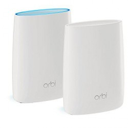 Netgear Orbi AC3000 Tri-Band WiFi System Router + Satellite, RBK50