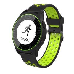 iGET ACTIVE A2 Green - chytré hodinky, IP68, LCD, GPS, BT 4.0, export STRAVA, 300 mAh, Multisport