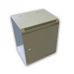 "10"" rack jednodílný 9U/280 DATACOM šedý plech.dv."