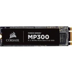 CORSAIR Force MP300 SSD 480GB M.2 NVMe PCIe Gen3 x2 TLC (čtení max. 1600MB/s, zápis max. 1040MB/s
