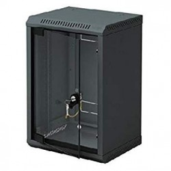 """10"""" rack jednodílný 4U/260 TRITON černý dveře sklo"""