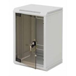 """10"""" rack jednodílný 9U/260 TRITON šedý plech.dveře"""