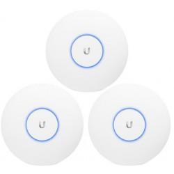 UBNT UniFi AP AC PRO 2,4GHz/5GHz 3pck, PoE není součástí balení