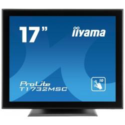 """17"""" iiyama T1732MSC-B5X - TN,SXGA,5ms,250cd/m2, 1000:1,5:4,VGA,HDMI,DP,USB,repro."""