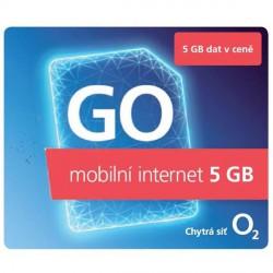 O2 Předplacený GO mobilní internet 5GB