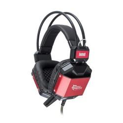 WHITESHARK JAGUAR BLACK/RED GH-1646 Gaming Headset, sluchátka s mikrofonem, (náhlavní souprava)