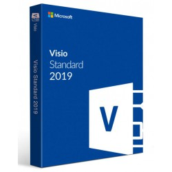 Visio Std 2019 Win Czech Medialess