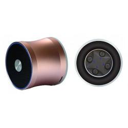 Wodasound REACTOR MY06E, laděný Exclusive Sport SuperBass Bluetooth reproduktor + MP3, gold