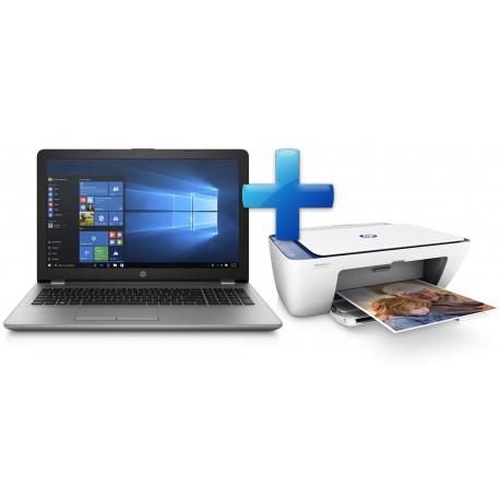 HP 250 G6 15.6 i3-7020U/4GB/256GB/DVD/BT/W10H + tiskárna ZDARMA!