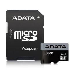 ADATA MicroSDHC 32GB U3 V30S 95MB/s + adapter